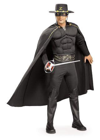 Zorro Muskel Deluxe Kostüm für Herren