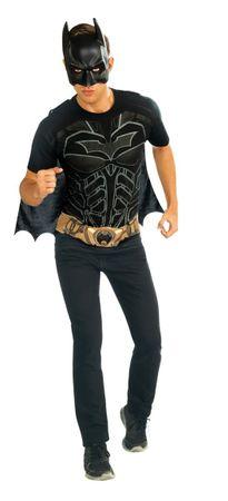 cooles Batman T-Shirt und Maske für Herren Gr. M u. L