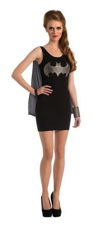 Batgirl Kleid für Damen schwarz