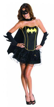 Batgirl Korsettkostüm für Damen