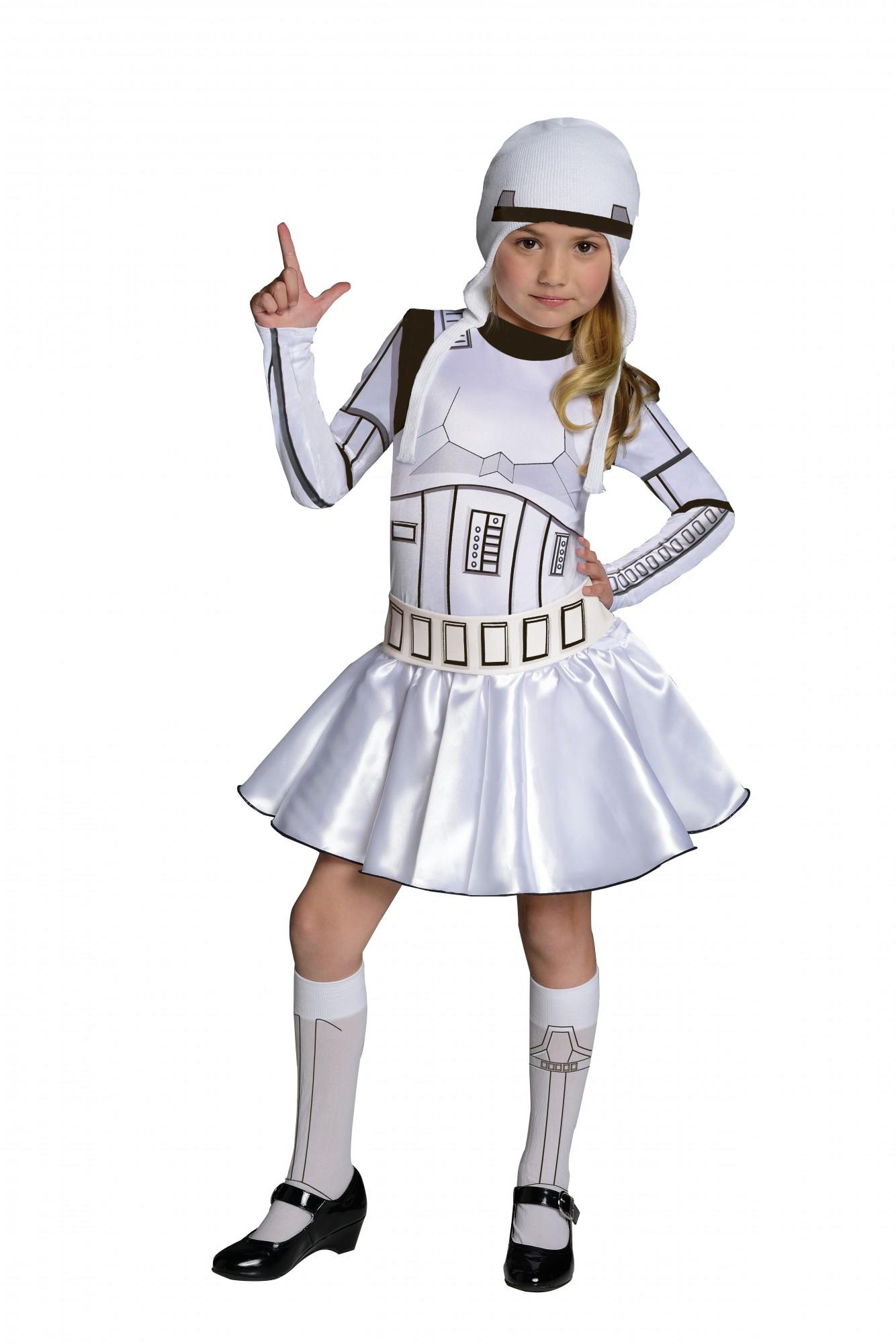 star wars storm trooper kostum fur madchen
