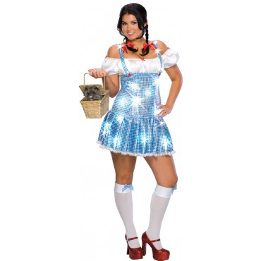 """Dorothy """"Der Zauberer von Oz"""" Kostüm für Damen Gr. XL"""
