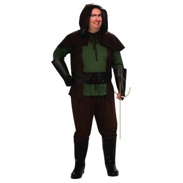 Robin Hood Kostüm für Herren Gr. XXL