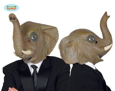 Elefant Maske für Erwachsene aus Latex