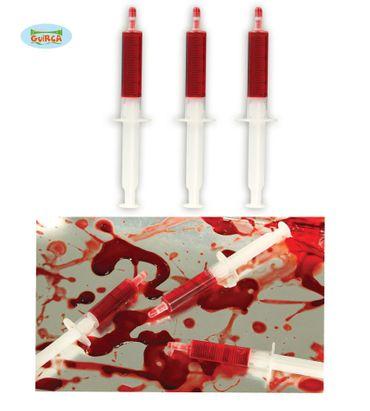 Spritzen mit Blut (3er Set)