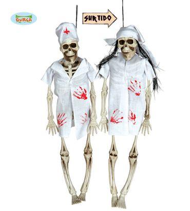 Skelett Doktor Krankenschwester 35cm