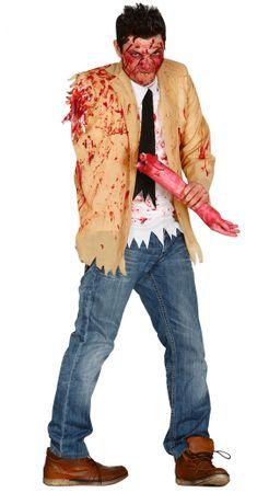 Zombie Kostüm ohne Arm für Herren Gr.M - L