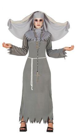 Besessene Nonne Damen Kostüm Gr. M/L