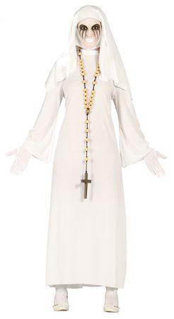 Geist Nonne Kostüm für Damen Gr. M/L