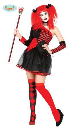 Teuflischer Clown Kostüm für Damen Gr. XS-M