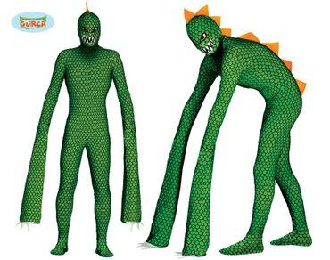Mutierendes Langarm Reptil Alien