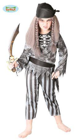 Piratengeist Kostüm für Kinder Gr. 110-146