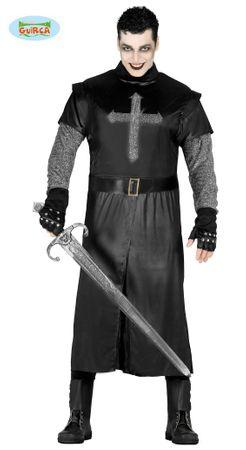 Schwarzer Ritter Herrenkostüm Gr. M/L