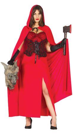 Rotkäppchen Halloween Kostüm für Damen
