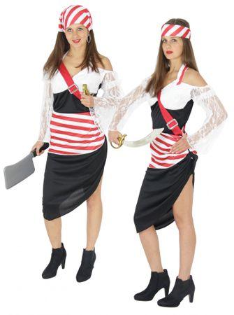 Sexy Piraten Kostüm für Damen