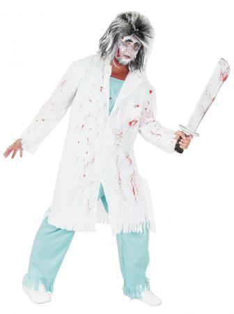 Zombie Doktor Arzt Kostüm für Erwachsene Gr. M - XXXL