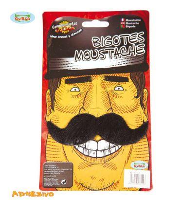 schwarzer Schnurrbart Schnauzer für Herren