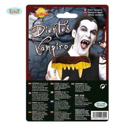 Vampireckzähne aus Latex