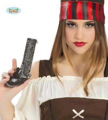 Piraten Donnerbüchse Pistole ca. 19cm