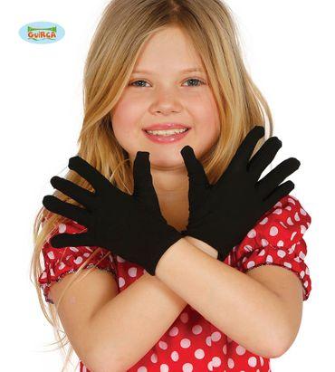 Kinderhandschuh Teenagerhandschuh schwarz 22 cm