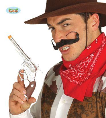 Einzelner Revolver Cowboy 25 cm