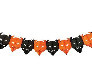 Halloween Teufel Girlande Dekoration 300 cm lang