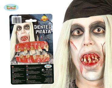 schiefe Piraten Zähne - Gebiss für Erwachsene