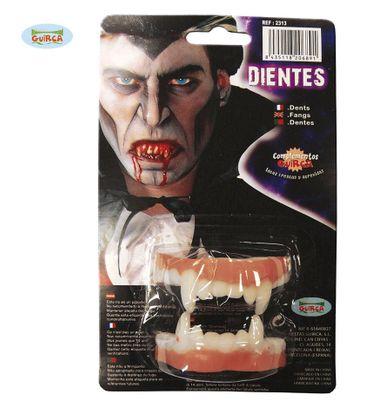 Vampir Zähne aus Latex für Erwachsene