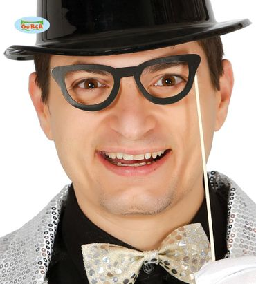 Brille Brillen Foto Fotobox Party Zubehör Fotoshooting 6 x