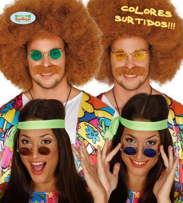 bunte Hippie Brille