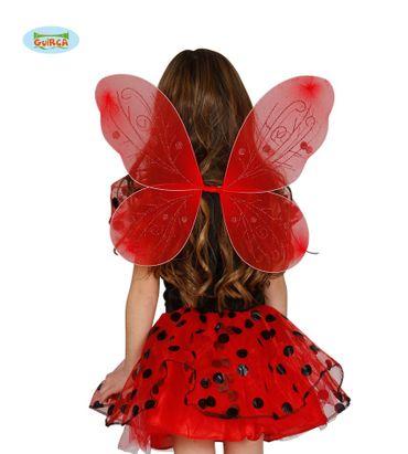rote Schmetterling Flügel für Kinder