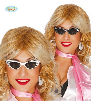 sexy 60er Jahre Sonnenbrille für Damen