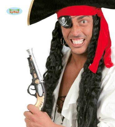 Piraten Donnerbüchse Pistole ca. 28cm