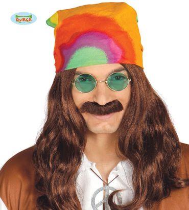 buntes Hippie Kopftuch für Erwachsene