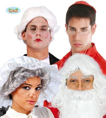 Fake Lesebrille zum Rentner Kostüm