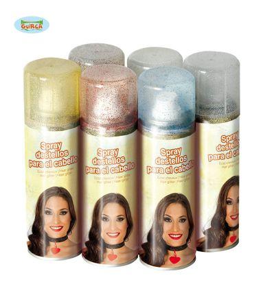 Glitzer Haarspray verschiedene Farben ca. 125 ml