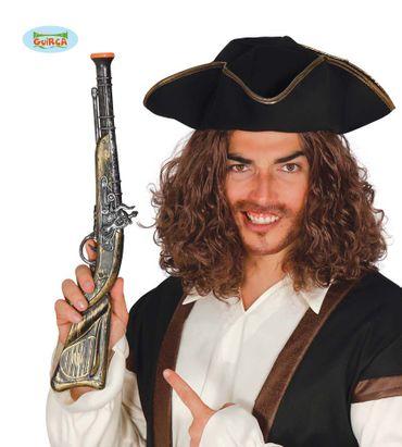 Piraten Donnerbüchse Pistole ca. 50cm