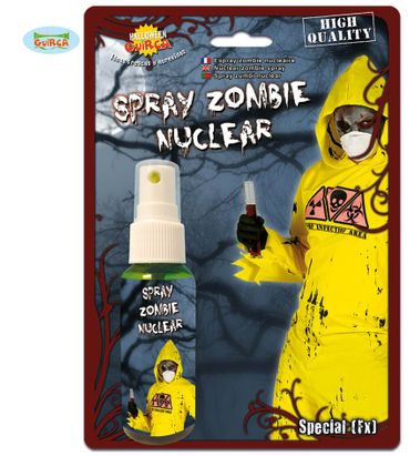 grünes Zombie Seuchen Spray ca. 45 ml