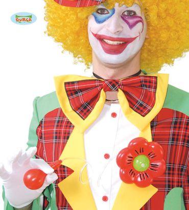 Blume die Wasser spritzt für Clowns ca. 11 cm