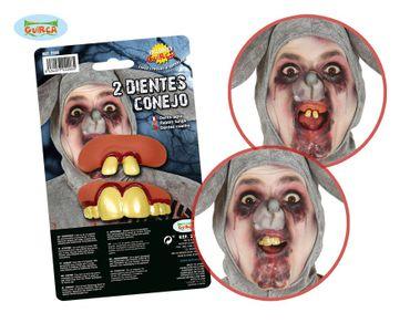 Hasen Zähne Set für Erwachsene