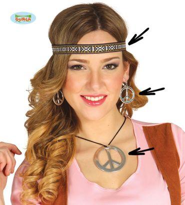 3teiliges Hippie Set für Damen