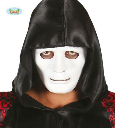 weiße Maske für Erwachsene