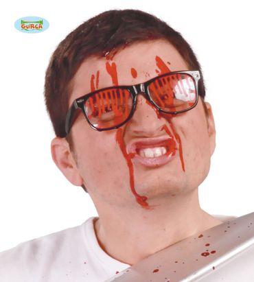 Brille mit Blut für Erwachsene