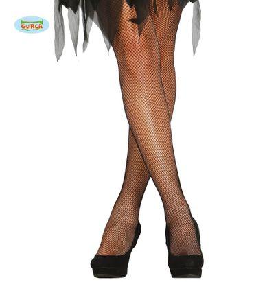 schwarze sexy Netz Strumpfhose für Damen