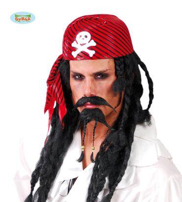 Piraten Hut Kopftuch für Erwachsene