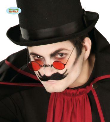 rote Vampir Brille