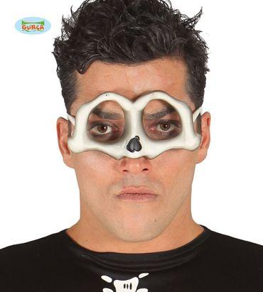 Totenkopf Brille für Erwachsene