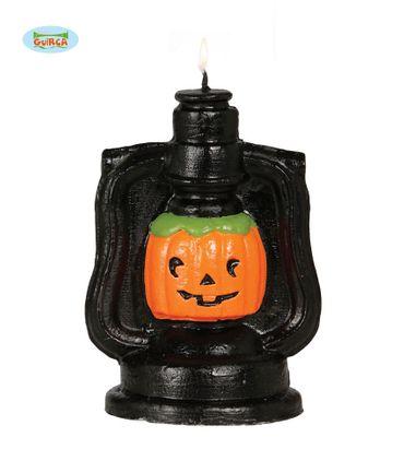 Kürbis in Lampe Kerze ca. 13 cm