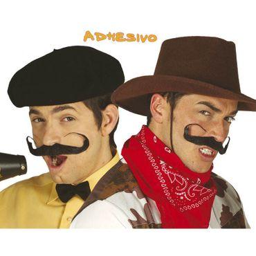 XXL Schnurrbart zum Cowboy Kostüm