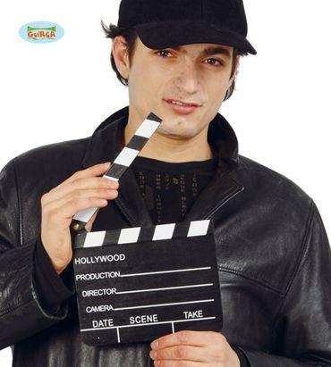 "Film Klappe ""Action"" schwarz"